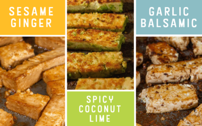 THE MOST FLAVORFUL TOFU MARINADES